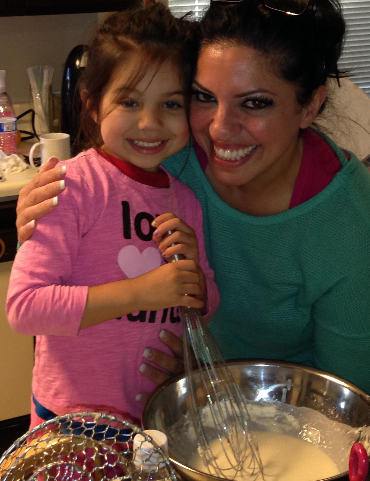 Baking with Amanda