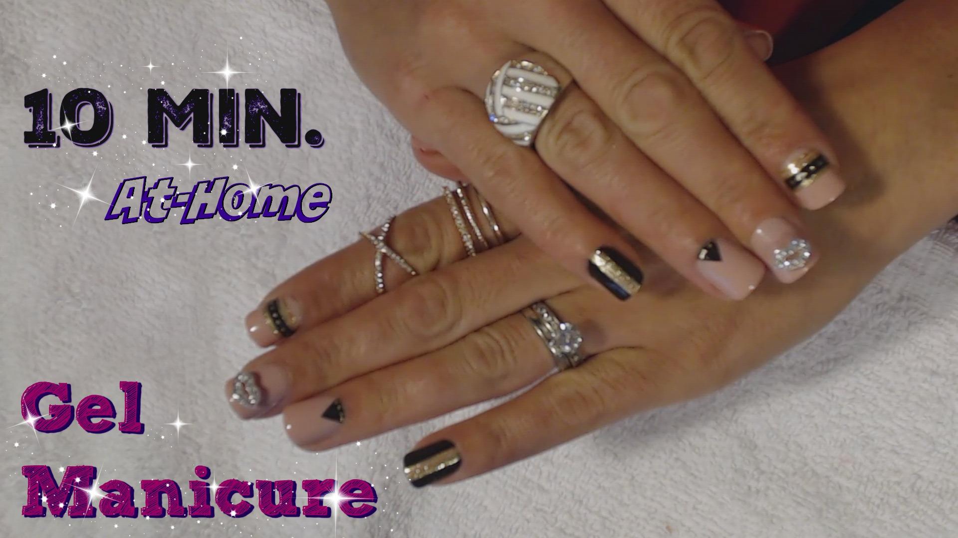 10 Min. At-Home Gel Manicure Tutorial
